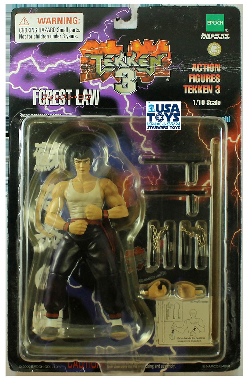 Tekken 3 Forest Law Action Figure Epoch Moc 6 1 10 1998 Hiroki Hayashi Bnm Ebay